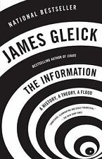 NEW - The Information: A History, A Theory, A Flood by Gleick, James