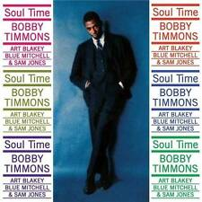BOBBY TIMMONS - SOUL TIME (NEW SEALED CD)