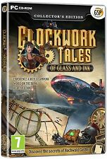 CLOCKWORK TALES OF GLASS AND INK Hidden Object Collector's Edition PC Game NEW