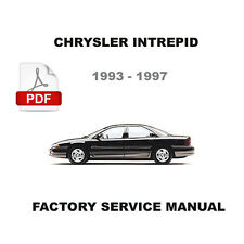 CHRYSLER INTREPID 1993 - 1997 3.3L 3.5L ENGINE OEM FACTORY SERVICE REPAIR MANUAL
