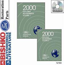 2000 Ford Explorer Mercury Mountaineer Shop Service Repair Manual CD Guide OEM