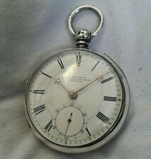 Very Early RARE *LIVERPOOL* MINT Silver Fusee Pocket watch* (WORKING). *1832*