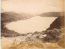 UNMOUNTED ALBUMEN PHOTOGRAPH - BARMOUTH PANORAMA VIEW  WALES BY F BEDFORD