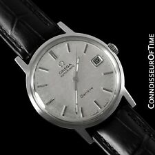 1970 Omega Geneve Vintage Cal. 565 Automatic Watch w/ Quick-Setting Date - Steel