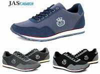 Mens Canvas Casual Trainers Lace Up Shoes Running Walking Pumps UK 6 7 8 9 10 11