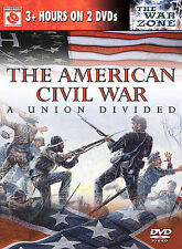 The American Civil War: A Union Divided Donald Sutherland DVD Sealed Last one