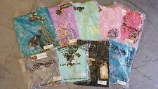 NWT 3 pcs ED HARDY CHRISTIAN AUDIGIER RHINESTONE T-SHIRTS TANK TOPS MEDIUM