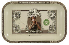 RAW Wiz Khalifa Limited Edition Metal Rolling Tray - SMALL - 28cm x 18cm x 2.5cm