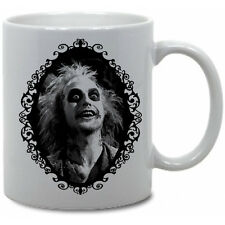 BEETLEJUICE COFFEE MUG! horror movie Lydia Deetz Tim Burton Betelgeuse Tv Show