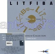 "LITFIBA PIERO PELU ""THE PLATINUM COLLECTION"" RARO BOX 3 CD + LIVE INEDITI"