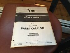 1966 Johnson Seahorse Outboard Motor Accessories Parts Catalog