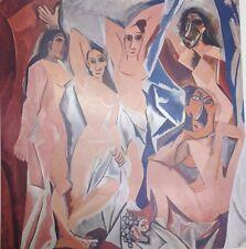 Les Demoiselles D' Avignon By Pablo Picasso