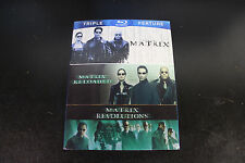 The Complete Matrix Trilogy (Blu-ray Disc, 2014, 3-Disc Set) Used / Tested