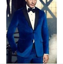 High Quality Mens Groom Suits Business Suit For Man Wedding Suits Velvet Custom