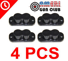 4 PCS Magnet Concealed HandGun Gun Pistol Holder Hanger Mount 25lb Rating 4X