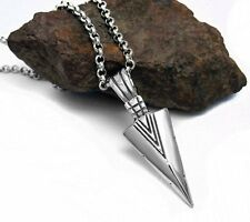 NEW  Men Womens Arrows Pendant Necklace Unisex Jewelry Punk Christmas Gifts Cool