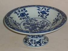 Beautiful Chinese blue&white porcelain Flowers and birds Fruit plate