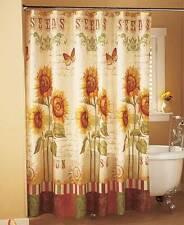 Sunflower  Bathroom Shower Curtain Country Bath Home Decor