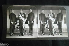 STB399 Japan Admiral Togo destroyer of the russian fleets photo STEREO albumen