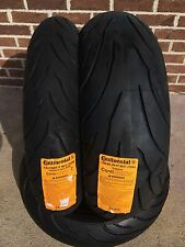 CONTINENTAL 120/70zr17 190/50zr17 Conti MOTION PAIR 120/70-17 190/50-17 Tire Set