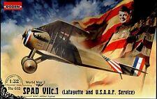 SPAD S VII c1 (LAFAYETTE & American CORPO DI SPEDIZIONE forza MKGS) 1/32 Roden RARO