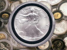 "Genuine  ""AIR-TITE""  Coin Protectors for the 1oz American Silver Eagle Coins  .:"