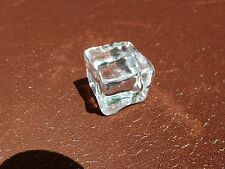 Fake Acrylic Synthetic Clear Ice Cubes ~ Prop Display & Burglar Deterrent~ 1-Ct