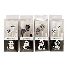 Digital Stereo Earphone Super Sound for iPod iPhone Mobile Mp3 Players SKULL DW