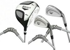 Medicus 460cc Driver+ 5 Iron +7 Iron Dual Hinged -training Aid Golf clubs Men RH
