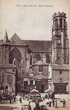 France Toul - Place du Marche old unused postcard