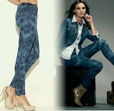"""New $138 guess Power Skinny """"Rosita""""s Floral-Print Jeans pants size 25"""