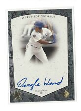 1998 SP TOP PROSPECTS DARYLE WARD ON CARD AUTO #DW HOUSTON ASTROS