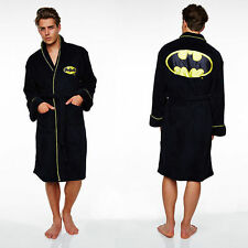 Batman dressing gown / mens bathrobe bath robe (gifts for men, bat man clothing)