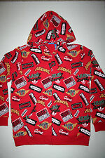 Adidas Originals by Nigo Jams Full Zip Hoodie AB1552 Men's US Medium (M) Red