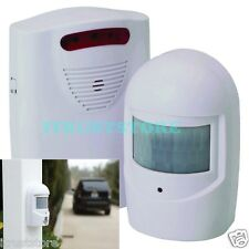 WIRELESS Motion Activated Business Entrance Door Bell Chime Alarm Alert New