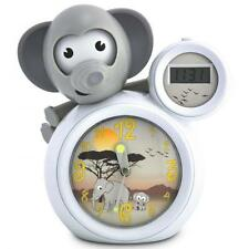 BabyZoo Baby Zoo MUMBO Elephant Children's Sleep Trainer and Alarm Clock White
