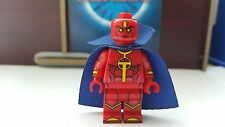 NEW CUSTOM BRAND MINIFIGURE Red Tornado  (Lego Batman 3: Beyond Gotham)