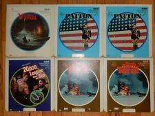 Lot 6 RCA SelectaVision Video Discs 4 Movies Victory at Sea Patton Tora Tora War