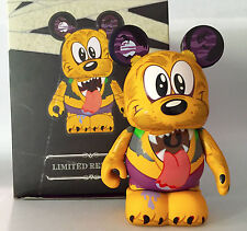 "DISNEY VINYLMATION 3"" HOLIDAY HALLOWEEN SPOOKY 2 WEREWOLF PLUTO 2012 PARK FIGURE"
