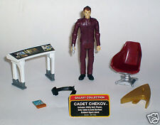 STAR TREK CADET CHEKOV 1x x1 GALAXY COLLECTION ACTION FIGURE 61788 2009 LOOSE