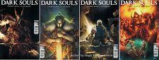 DARK SOULS (4) comic set #1 2 3 4 Titan 1st print game cover A Quah Mann
