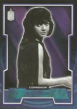 """Topps Doctor Who 2015 - No. 35 """"Katarina"""" Purple Parallel Card #41/99"""