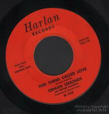 (Hear) Orman Lemonds Iowa Country Bopper / Rockabilly (This Thing Called Love)