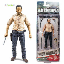 "The Walking Dead TV Series 6 Rick Grimes 5"" or 12.5cm Action Figure in Box +GIFT"