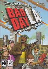 BAD DAY LA American Mcgee Presents Action PC Game NEW!!