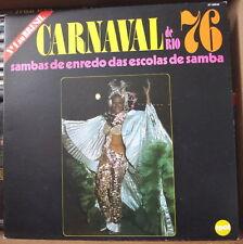 CARNAVAL DE RIO 76 SAMBAS DE ENREDO DAS ESCOLAS DE SAMBA FRENCH LP