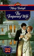The Temporary Wife by Balogh, Mary