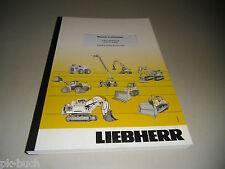Manuel d'utilisation Liebherr R 317 Litronic Nr. 51369 Pelle hydraulique St.2010