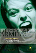 Duffy and Armitage: Carol Ann Duffy and Simon Armitage and Pre-1914 Poetry (York