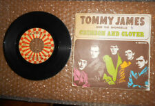 "45 GIRI 7"" TOMMY JAMES AND THE SHONDELLS Crimson and clover Do to me"